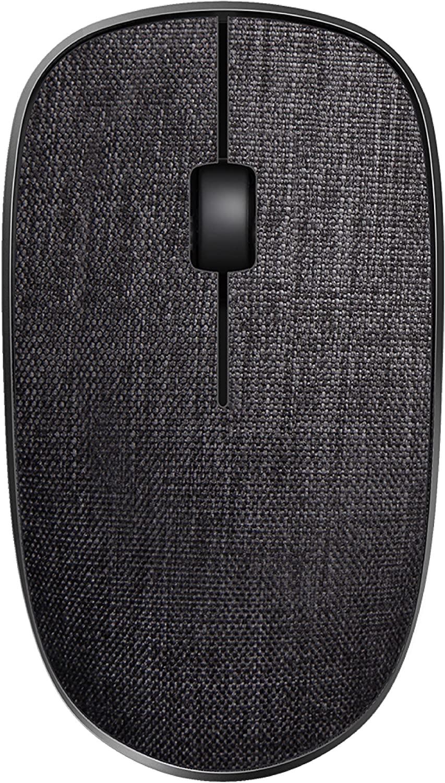 Rapoo 2.4G Wireless Fabric Optical Mouse - Black