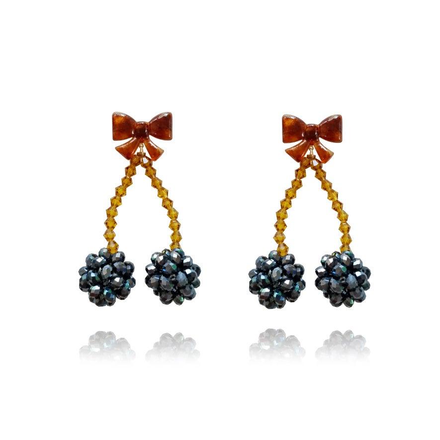 Culturesse Claribel Modern Fairy Tale Earrings (My ears are not pierced]