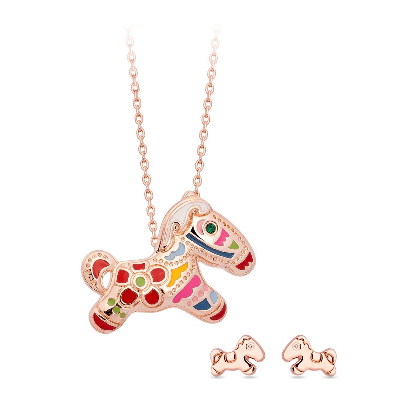 Carnival Pony 3D Necklace / Pendant