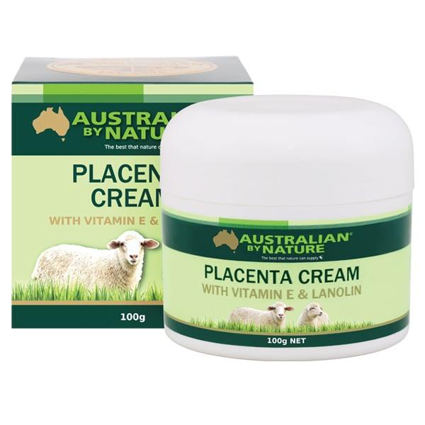 Australian by Nature Placenta Cream with Vitamin E & Lanolin 100g
