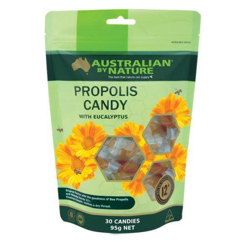 Australian by Nature Propolis Candy with Manuka Honey 12+ (Mgo 400) 30 Candies