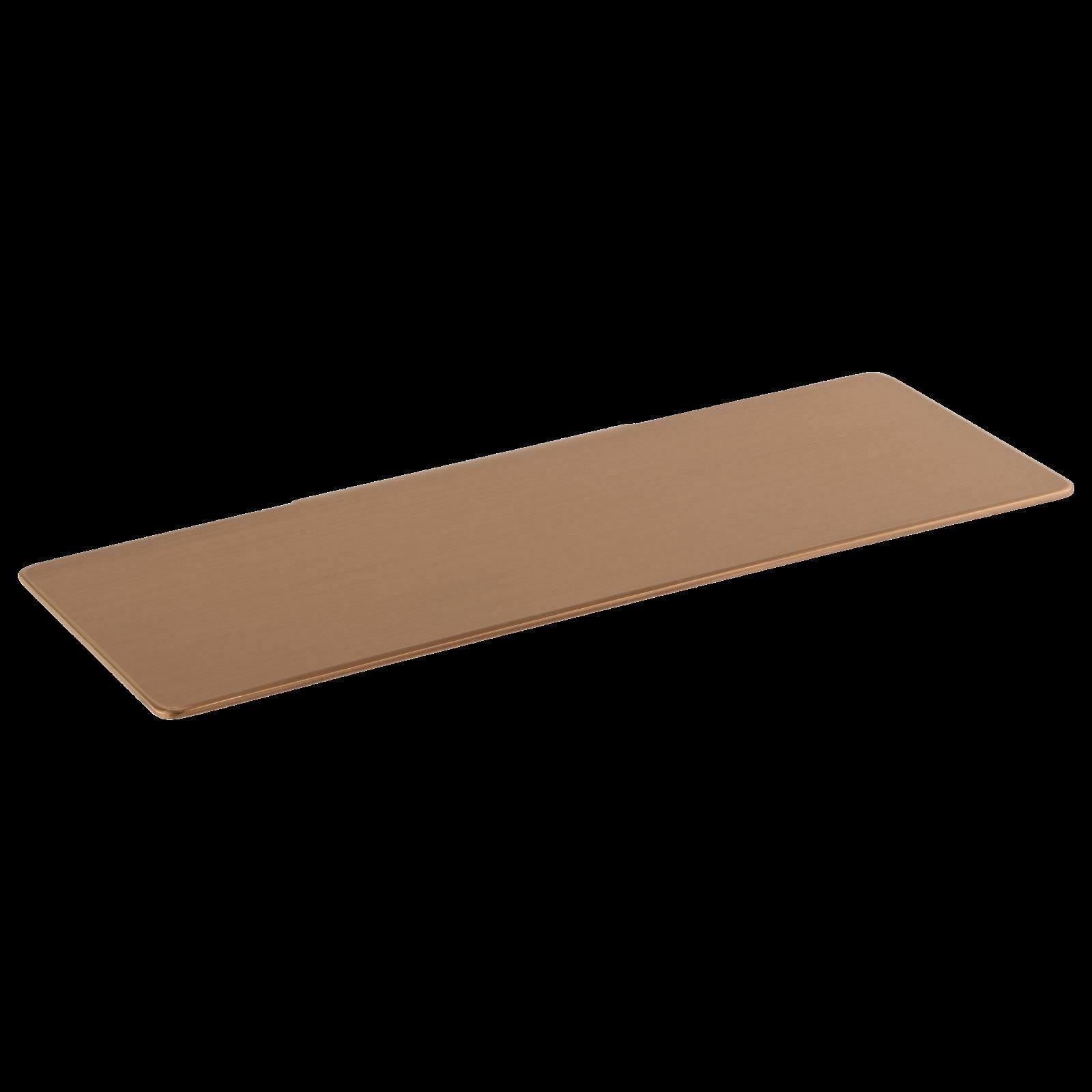 Shower Shelf Soap Dish 440 mm rack Burnished rose Gold Copper gunmetal bathroom