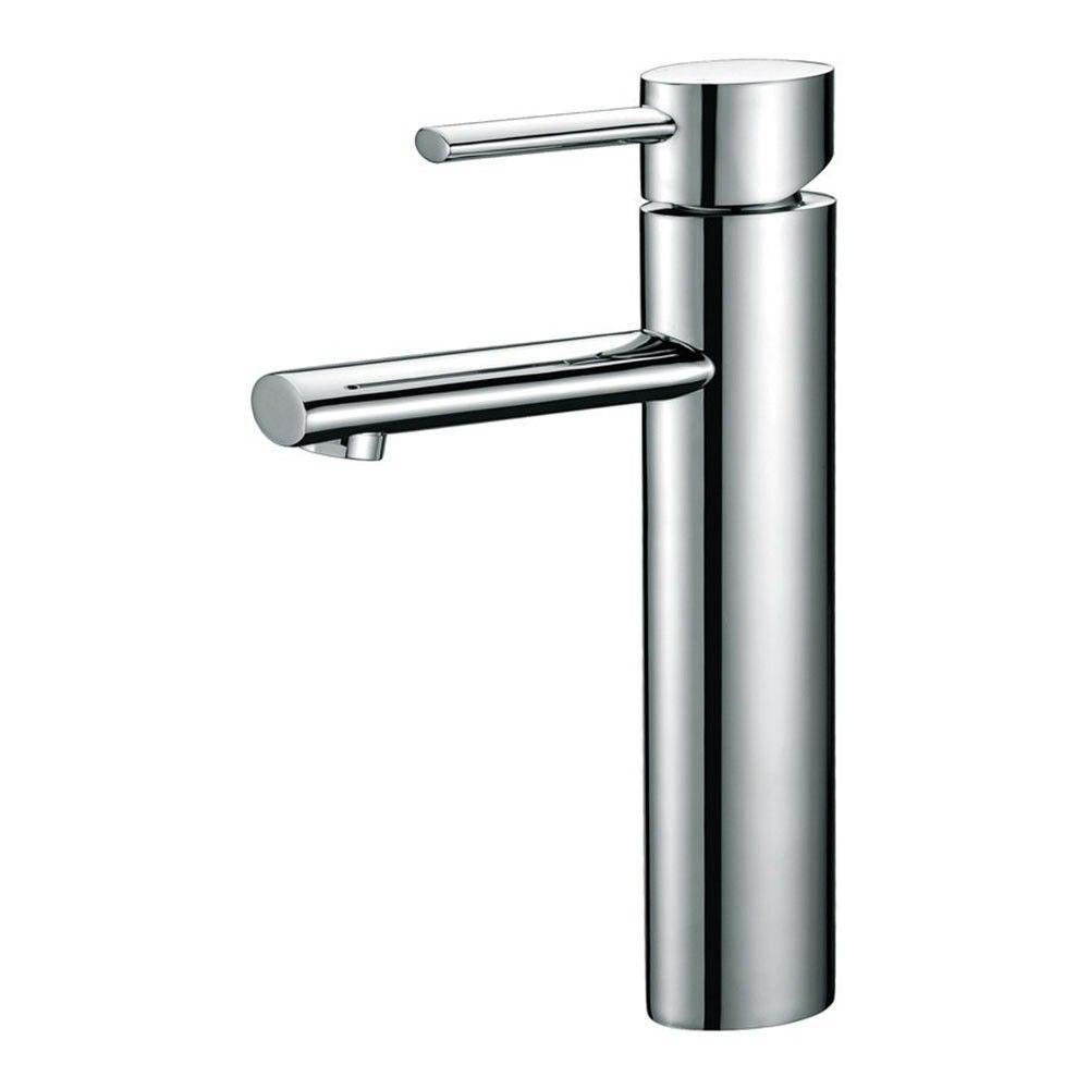 High Rise Basin Sink Mixer Lollipop Handle for Bathroom