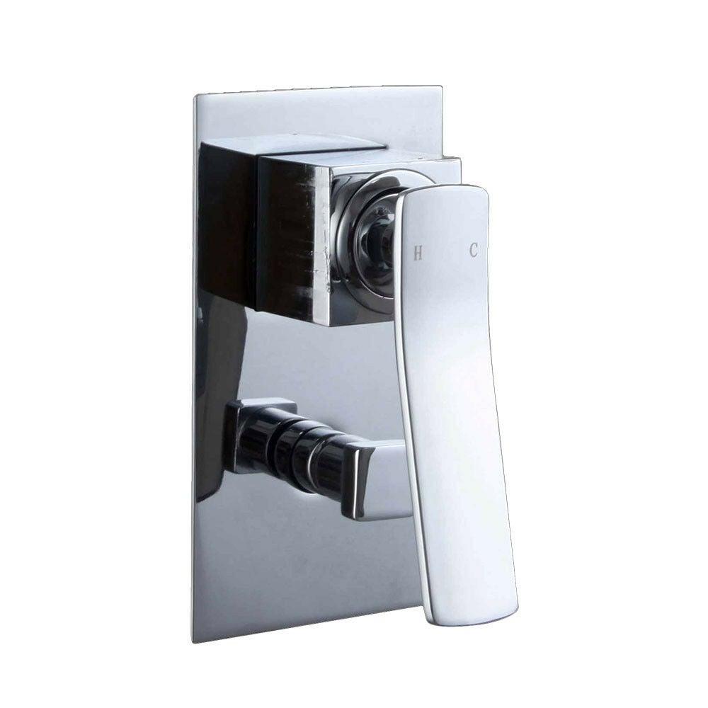 Luxury Design High Quality Bathroom Wall Combination Mixer Tap Handle Diverter