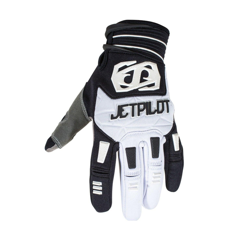 Jetpilot Matrix Water Ski Race Gloves Black/White #JA6300 Size S-L