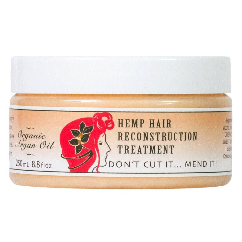 Argan Oil Reconstruction Mask - Haircare Treatment + Strengthen