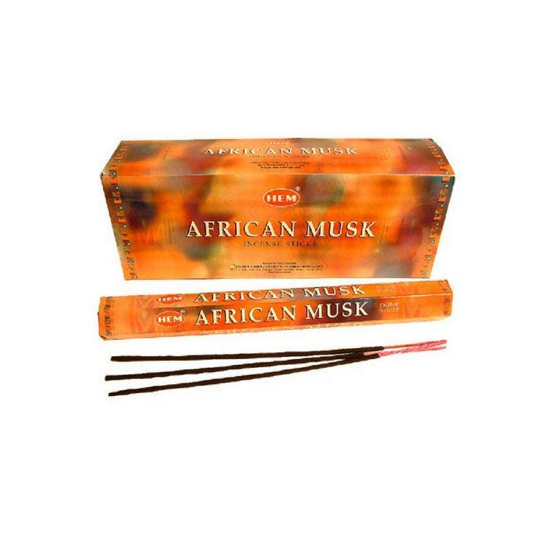 HEM African Musk Incense Sticks - 200 Sticks - Bulk Box - Fresh Batch