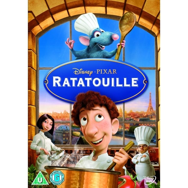 Disney Ratatouille DVD