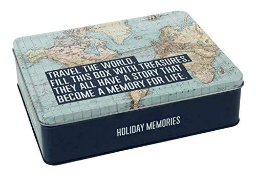 Explore Collection Storage Tin Travel the World