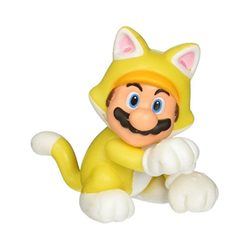 Limited Articulation Cat Mario (Nintendo) 2.5 Inch Figure
