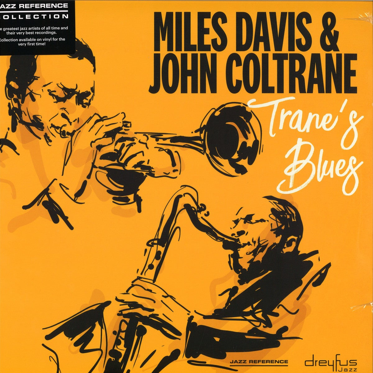 Miles Davis & John Coltrane – Trane's Blues Vinyl