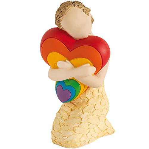 More Than Words A Hug Of Love Rainbow Figurine 9615