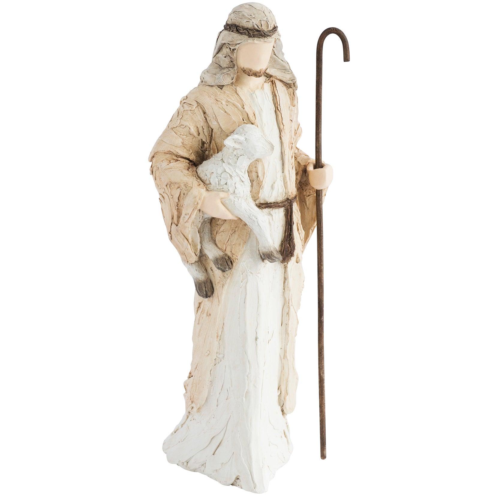 More than Words Nativity Figurines Shepherd