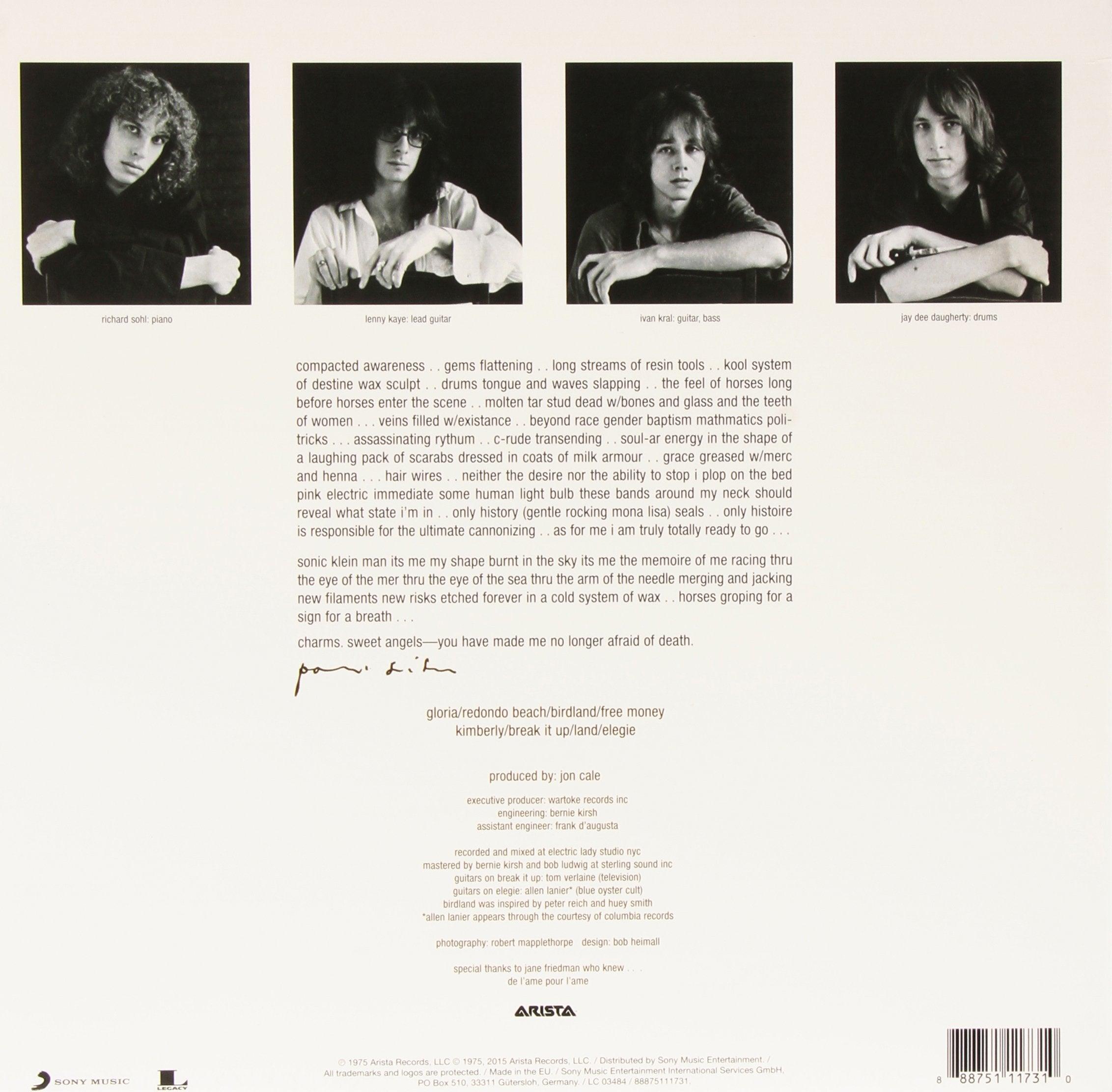 Patti Smith - Horses Vinyl