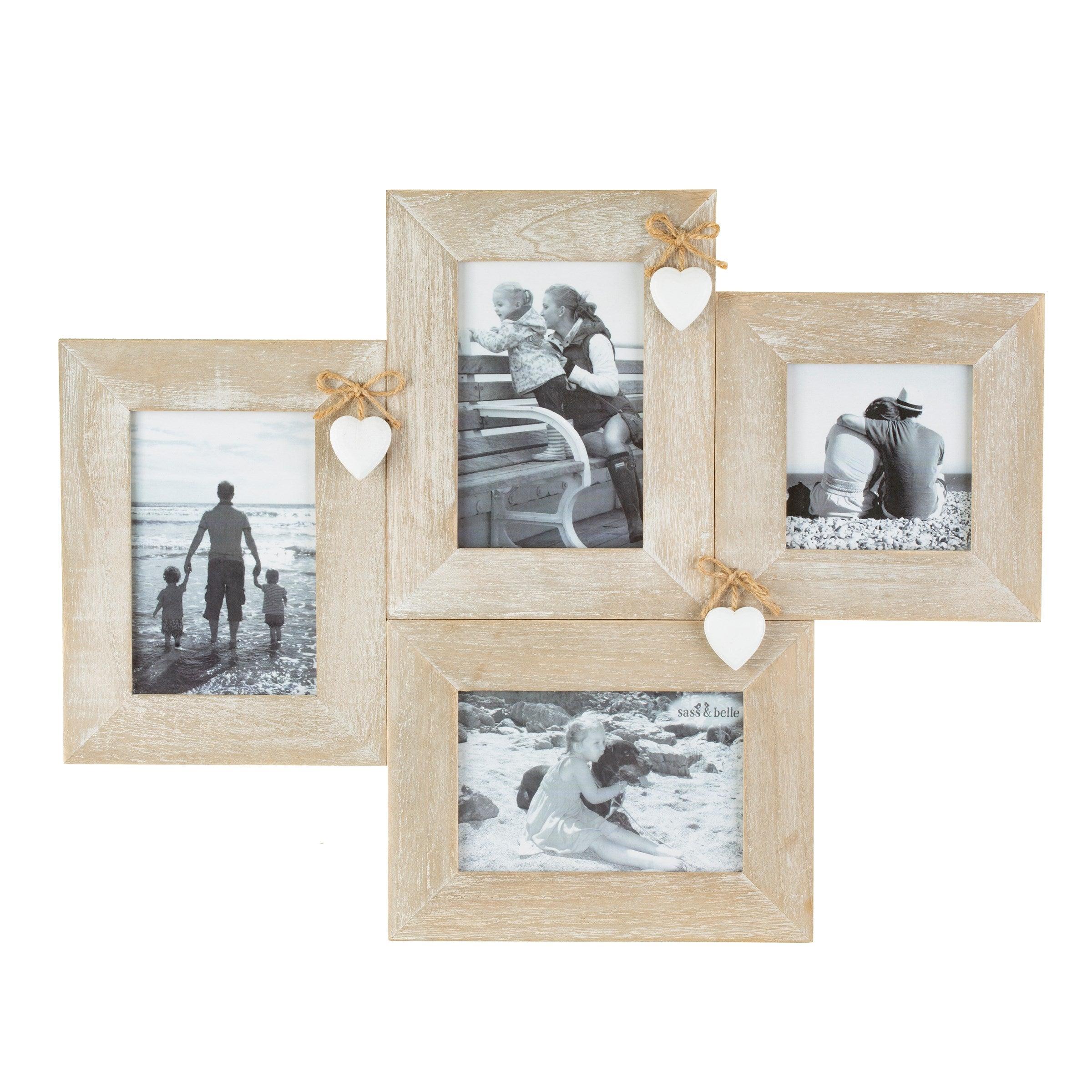 Sass & Belle Ashley Farmhouse Multi Photo Frame