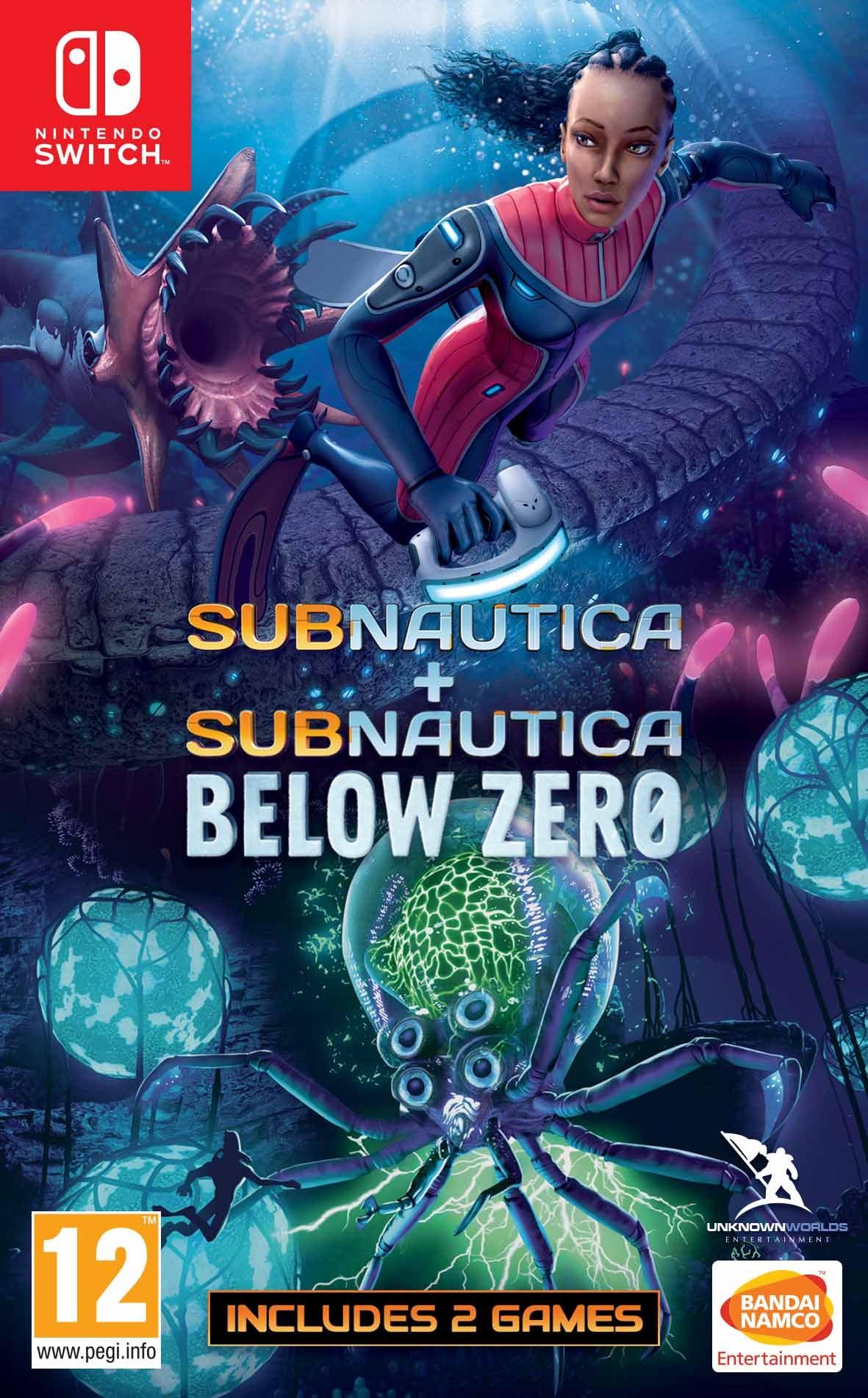 Subnautica + Subnautica Below Zero Nintendo Switch Game