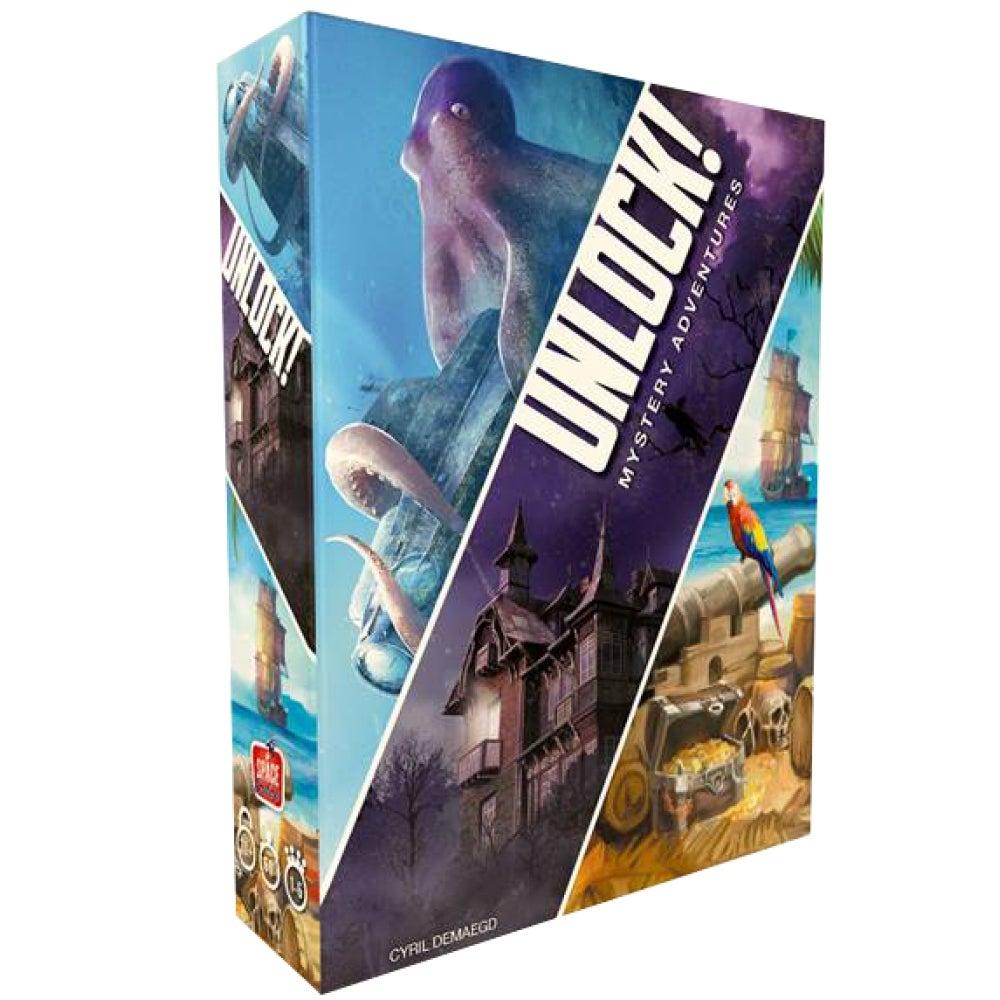 Unlock! 2 Escape Adventures Card Game
