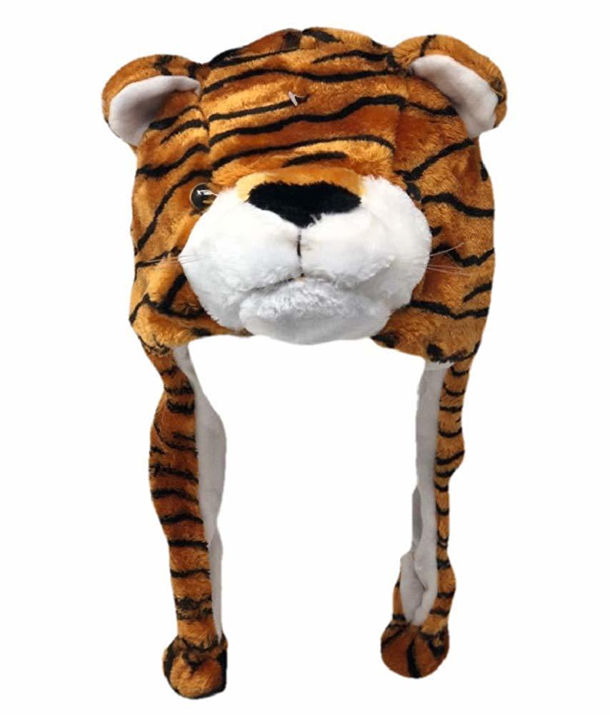 Animal Beanie - Tiger