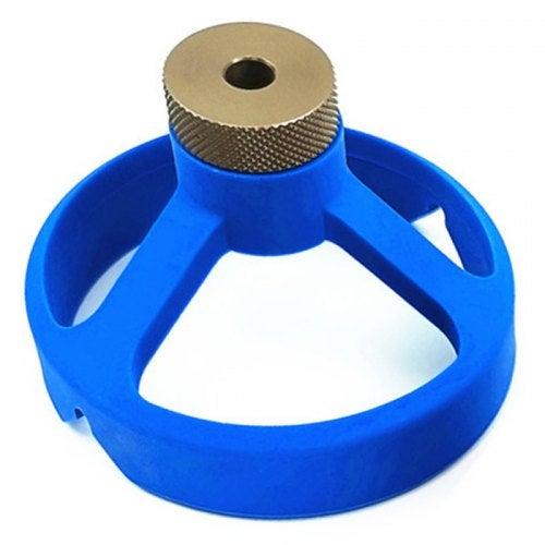 08560 Woodworking Vertical Positioning Puncher- Dodger Blue