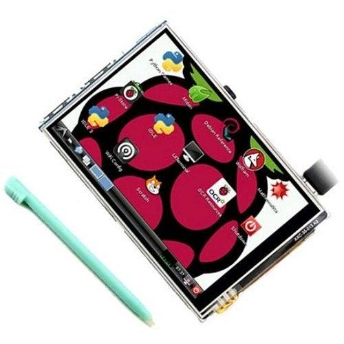 3.5 Inch Raspberry Pi 3B+ Display Raspberry Pi 3B+ Touch Display Plus Touch Pen- Multi-A