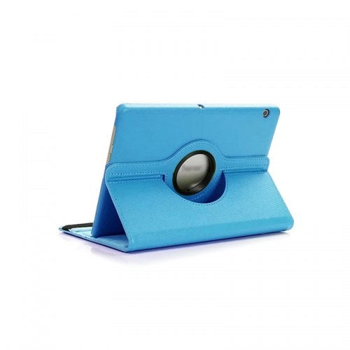 360 degrees rotate Tablet Funda Cover For Huawei T3 10 Case For Huawei Tablet T3 Case Leather Flip- Blue China
