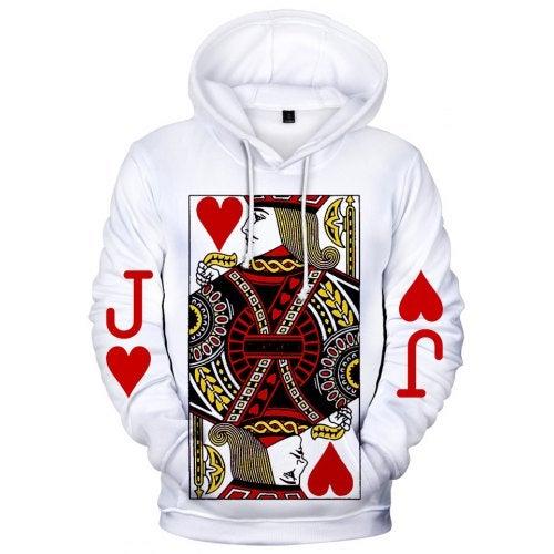 3D Poker Men Creative Design Hoodies Sweatshirts Q3469- Q3469YH03 XXXL China