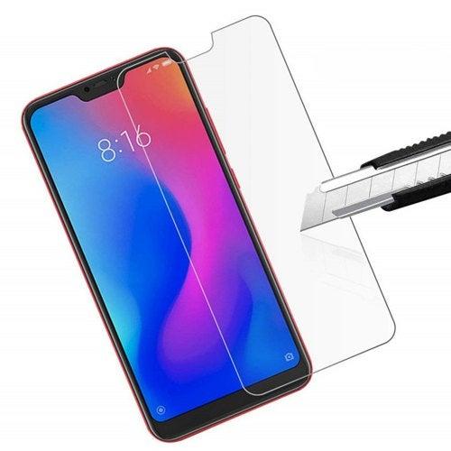3Pcs 9H Tempered Glass Screen Protective Case for Xiaomi Mi A2 Lite / Redmi 6Pro- Transparent