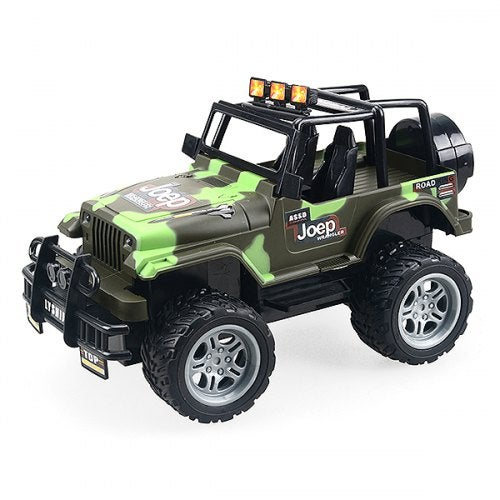 6062 1/18 4CH RC Off-road Car Model - RTR Toy Gift for Children 20km/h 30mins Running- ACU Camouflage