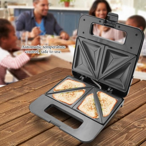 750W Sandwich Toaster Machine Toaster Oven Eletric Cooking Pan Removable Non-Stick Plate- China Sandwich Maker EU