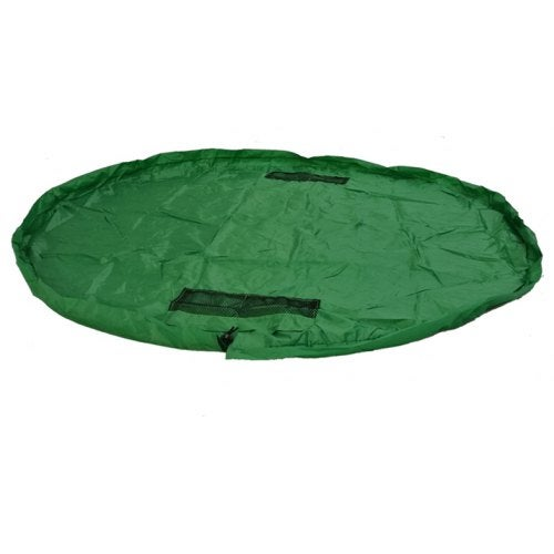 Drawstring Children Toy Storage Bag- Deep Green