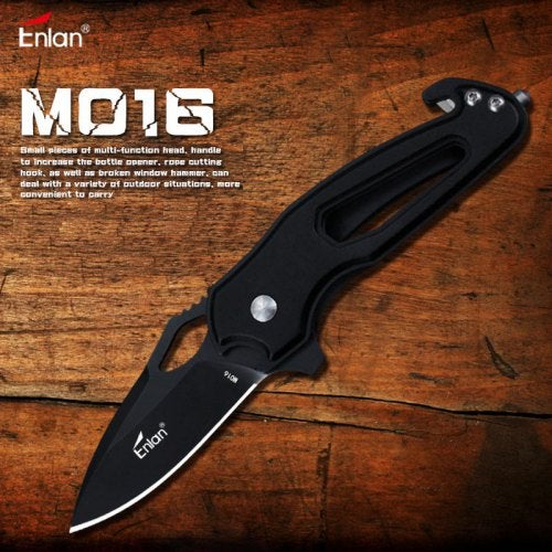 Enlan M016 Mini Folding Knife 8cr13mov with Blade Outdoor Camping survival Pocket Knife- M016 China