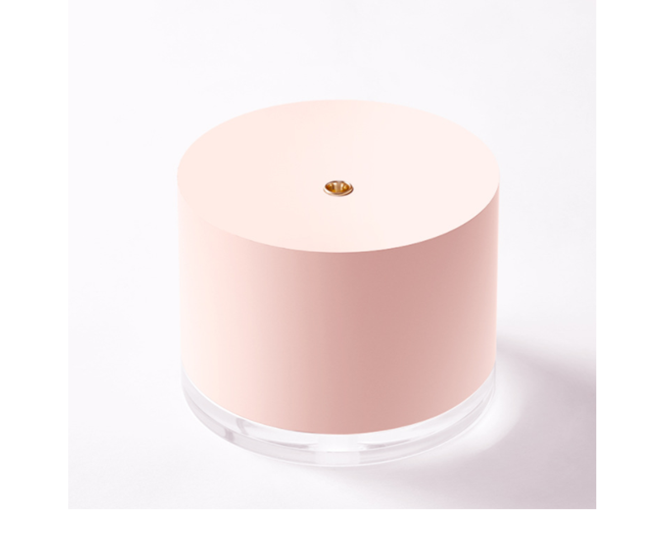 Humidifiers for Bedroom,Cool Mist Humidifier,Wireless Quiet Mini Humidifiers with Night Light for Baby Office-WITH A BATTERY AND A PROBE-PINK