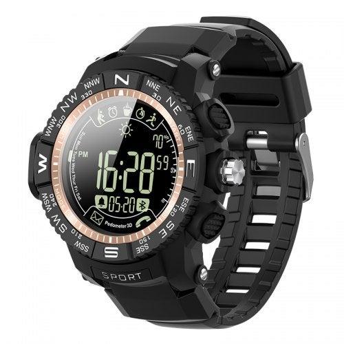 ioutdoor Pioneer P10 IP68 Rugged Muliti-function Sport Smart Watch- GOLD China