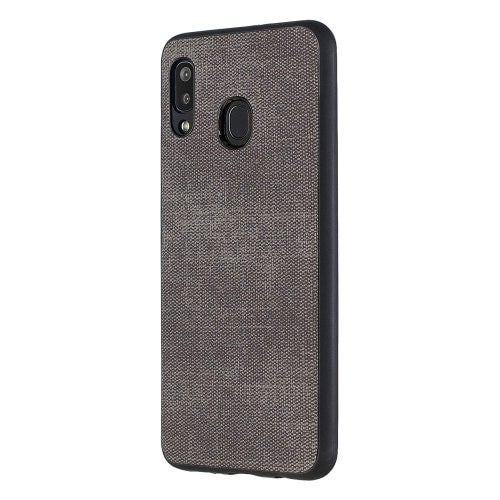 Jeans TPU Back Cover Phone Case for Samsung Galaxy A20/Samsung Galaxy A30- Dark Gray Samsung Galaxy A20