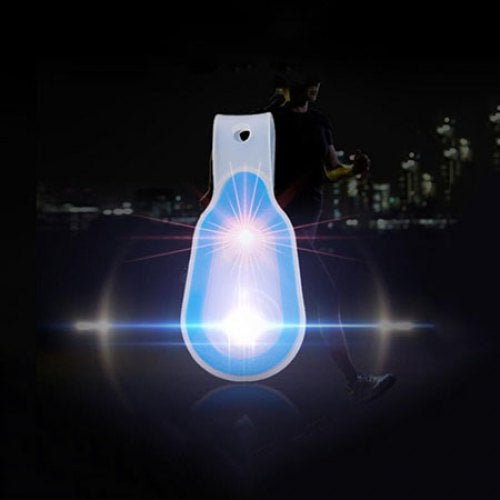 Multifunctional Battery Powered Camping Light Clamp Lamp- Silk Blue