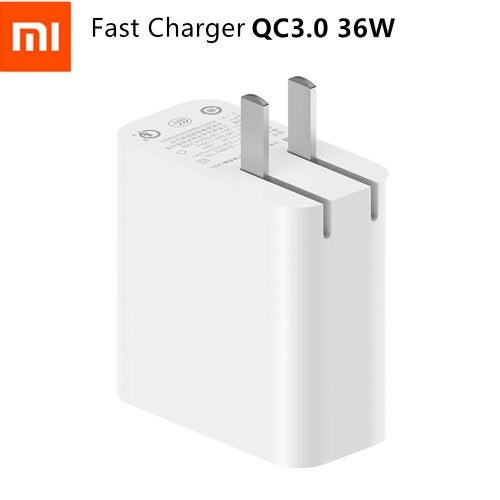 Original Xiaomi AD07ZM Dual USB Output 36W Fast Charger Support IOS Samsung Huawei Smart Device- US