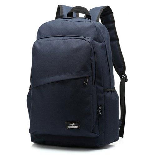 Outdoor Men's Fashion Sports Backpack Travel Bag- Deep Blue