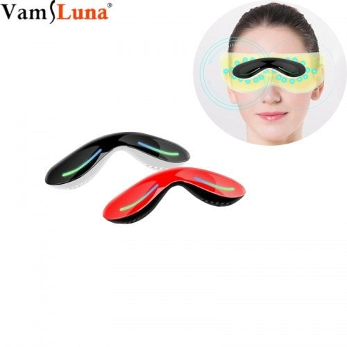 Portable Electric Eye Massager Protects Vision and Relieves High Frequency Vibrations- Red China