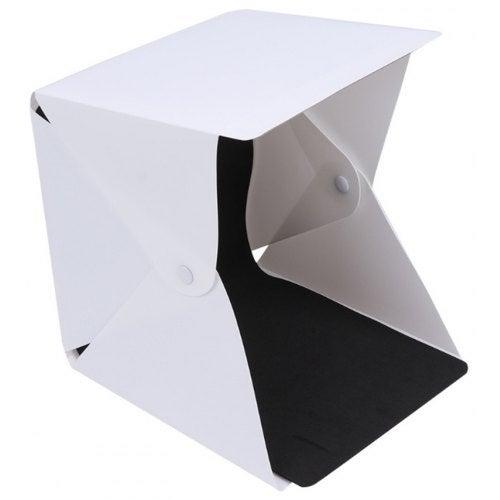 Portable LED Photography Background Photo Lightbox- White