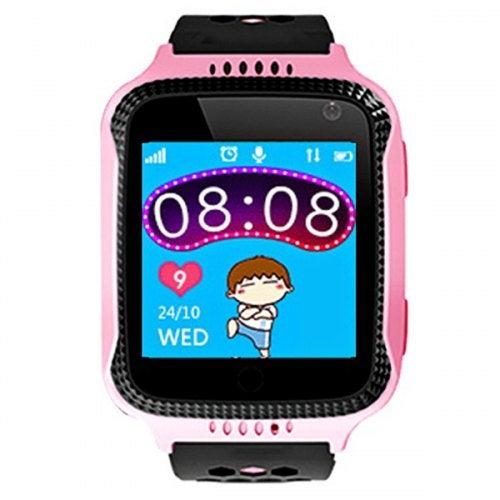 Q529 1.44 inch LCD Display Children Smart Watch- Pink