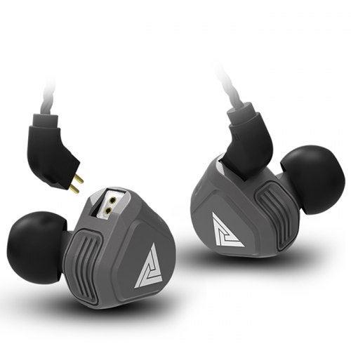 QKZ VK2 In-ear Earphones HiFi Subwoofer Earbuds- Battleship Gray without Mic