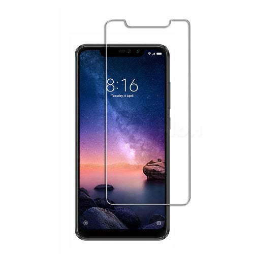Screen Protector for Xiaomi Redmi Note 6 Pro HD Ultra-Thi Tempered Glass- Transparent