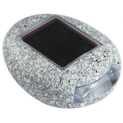 Stone Lamp Portable Solar Light- Blue Gray