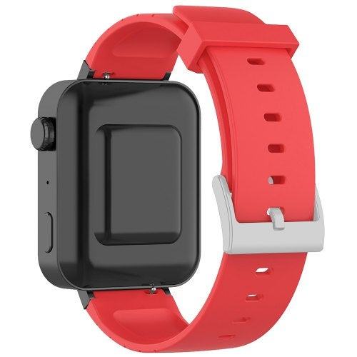 TAMISTER Soft Silicone Replacement Wristband Smart Watch Strap for Xiaomi Wear- Red