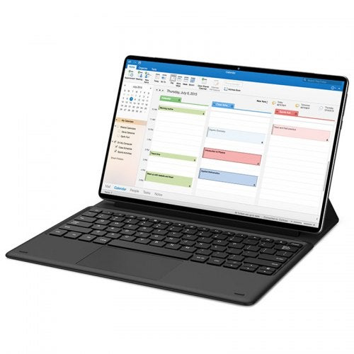 Teclast 2-in-1 Magnetic Keyboard Cover with Docking Interface for M16 Tablet PC- Black
