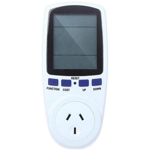 TS-836 240V 50Hz Power Energy Meter Socket- White