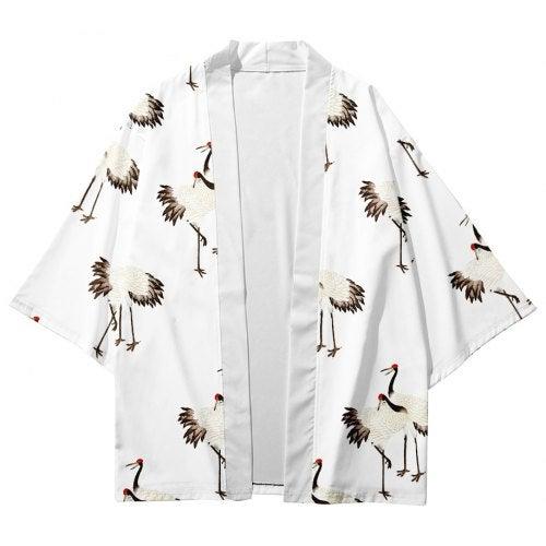 V01027 Men Fashion Printed Kimono Cardigan- V01029 3M25 XXL China