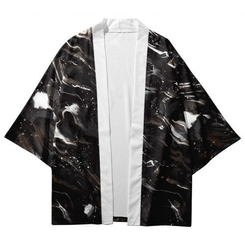 V01032 Men Fashion Printed Kimono Cardigan- V01032 3M25 XL China