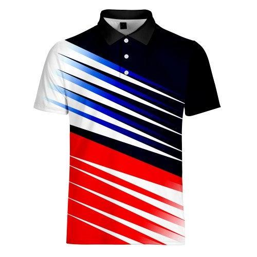 WAWNI Brand Turn-down Collar High Street Bodybuilding Tshirt Short Sleeve Tee- V00450 3H30 XXXL China