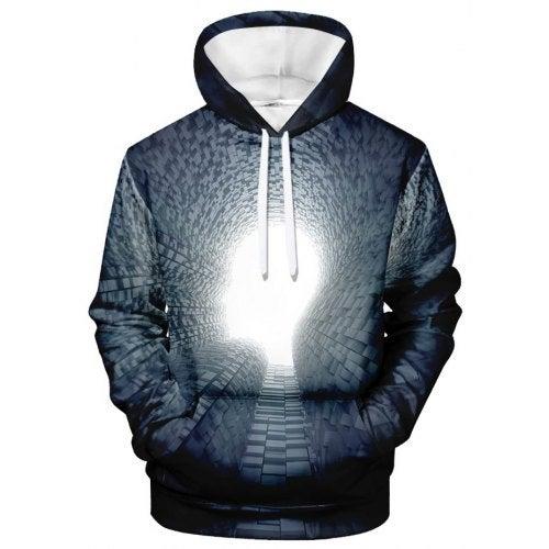 WAWNI Harajuku Funny 3D Hoodies Light spot Sweatshirts- V02225 YH03 XL China